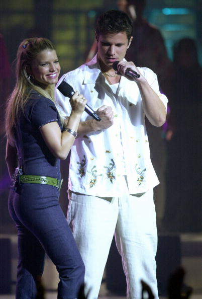 Jessica Simpson「JESSICA SIMPSON, JASON RAIZE, AND NICK LACHEY IN CONCERT.」:写真・画像(10)[壁紙.com]
