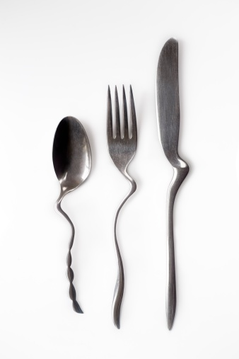 Distorted Image「Spoon, fork and knife」:スマホ壁紙(2)