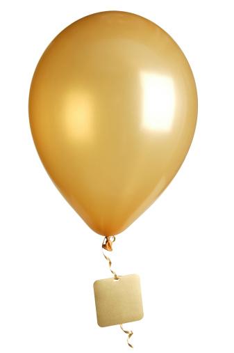 Balloon「party balloon with blank tag」:スマホ壁紙(1)
