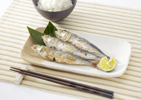 日本食「Roasted sardines」:スマホ壁紙(4)
