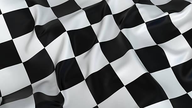 A rumpled black and white checkered flag:スマホ壁紙(壁紙.com)