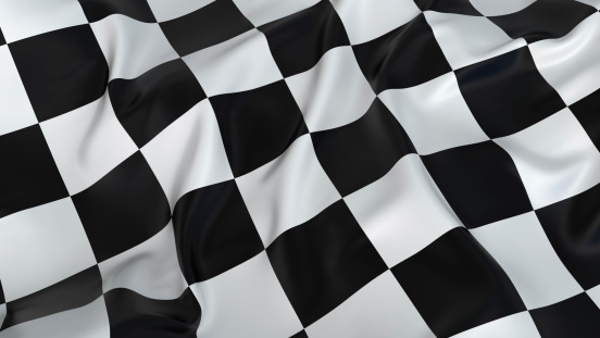 Protest「A rumpled black and white checkered flag」:スマホ壁紙(6)