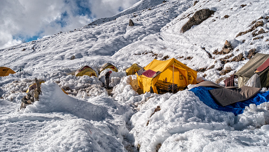 Island Peak「Island Peak Base Camp, Himalayas, Nepal」:スマホ壁紙(7)