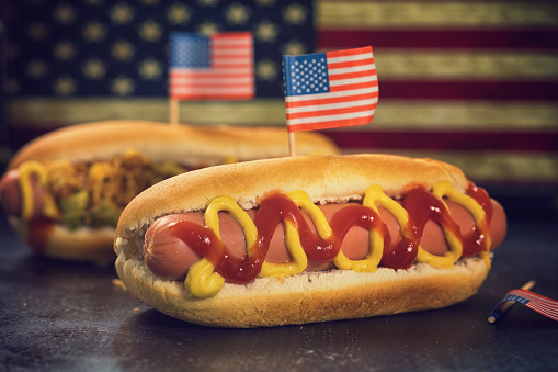 Fast Food「American Hotdog for 4th of July」:スマホ壁紙(17)