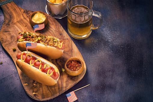 Hot Dog「American Hotdog for 4th of July」:スマホ壁紙(17)