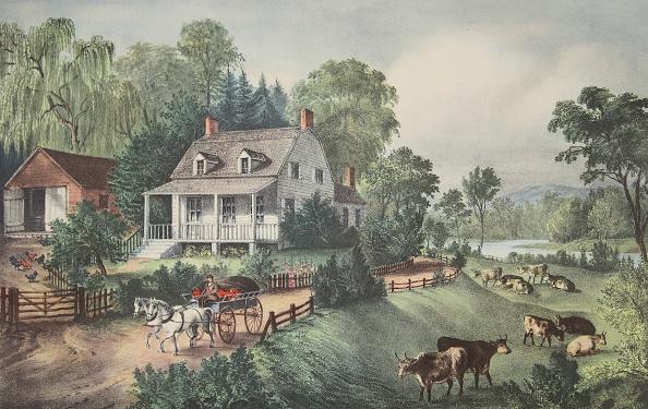 Farm「American Homestead -  Summer」:写真・画像(1)[壁紙.com]