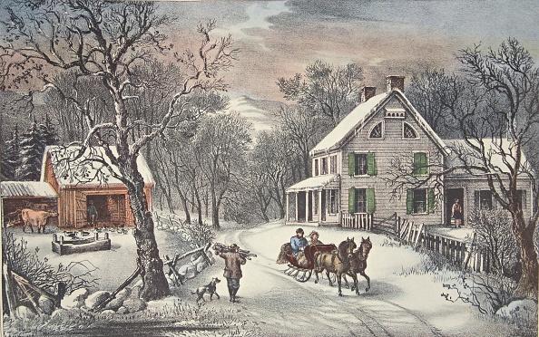 雪「American Homestead -  Winter」:写真・画像(15)[壁紙.com]