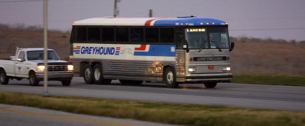 Bus「Greyhound bus in Austin, Texas.」:写真・画像(11)[壁紙.com]