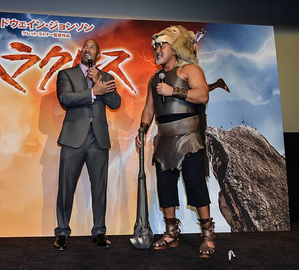 ドウェイン・ジョンソン(ザ・ロック)&武藤敬司のまとめ:2014年10月19日(壁紙.com)