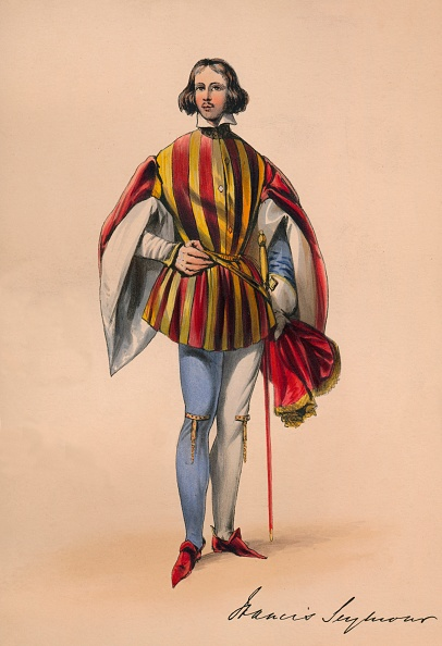 Francis M. R「Francis Seymour In Costume For Queen Victorias Bal Costumé」:写真・画像(4)[壁紙.com]