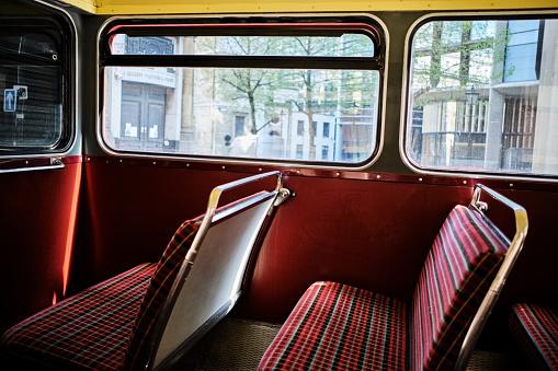 Double-Decker Bus「UK, London, interior of a bus」:スマホ壁紙(14)