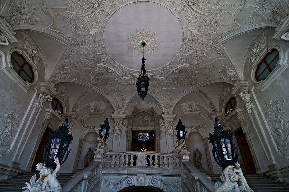 Ceiling「Vienna; Upper Belvedere; Grand Staircase」:写真・画像(14)[壁紙.com]