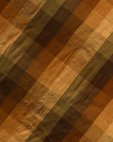 Tartan check「ブラウン色の格子柄シルクの」:スマホ壁紙(17)