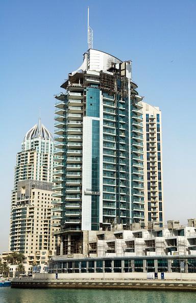 Finance and Economy「Mixed use residential tower, near completion Dubai Marina Dubai」:写真・画像(2)[壁紙.com]