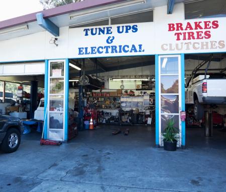 Assistance「Open doorway of auto repair shop」:スマホ壁紙(8)
