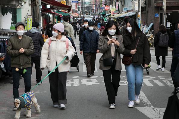 South Korea「Concern In South Korea As The Covid-19 Spreads」:写真・画像(15)[壁紙.com]