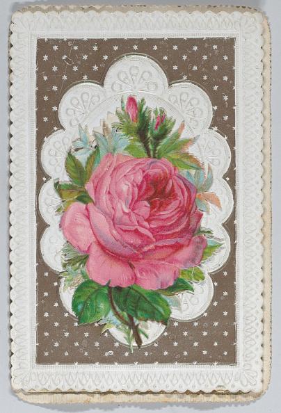 Birthday Card「Valentine - Mechanical Layered Birthday - Die Cut Roses And Woman.」:写真・画像(5)[壁紙.com]