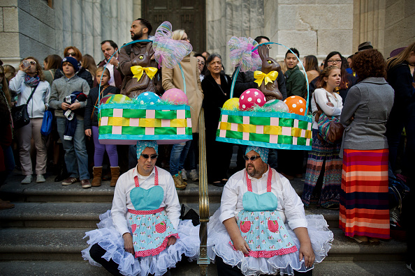 イースター「Annual Easter Parade Held On Manhattan's 5th Avenue」:写真・画像(13)[壁紙.com]