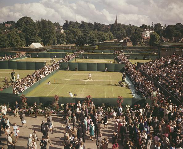 テニス「Matches At Wimbledon」:写真・画像(19)[壁紙.com]
