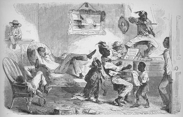 Abolitionism - Anti-slavery Movement「In The Mansion Of Robert W Barnwell At Beaufort, North Carolina, C1860, (1938)」:写真・画像(2)[壁紙.com]