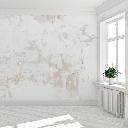 Slovenia「Empty antique interior」:スマホ壁紙(3)