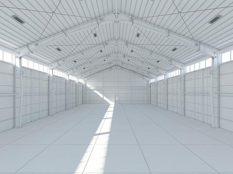 Wire-frame Model「Wire-frame model of empty office」:スマホ壁紙(6)