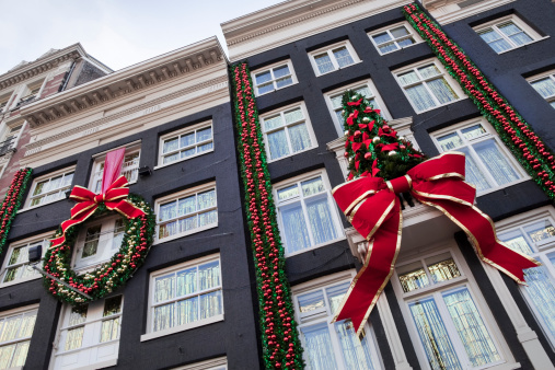 Amsterdam「Buildings with Christmas decoration (XXL)」:スマホ壁紙(16)