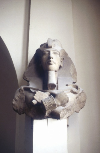 Ancient Civilization「Carved head of king Akhenaton, Ancient Egypt」:スマホ壁紙(18)