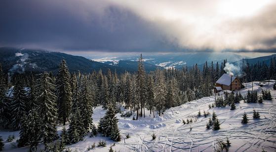 Winter Solstice「Mountain sunshine」:スマホ壁紙(12)