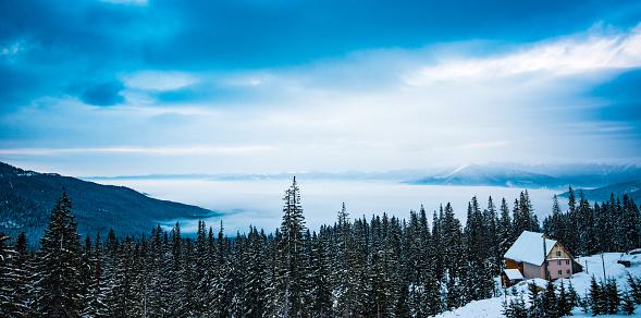 Winter Solstice「Mountain sunshine」:スマホ壁紙(13)