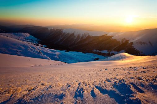 Winter Solstice「Mountain sunshine」:スマホ壁紙(10)