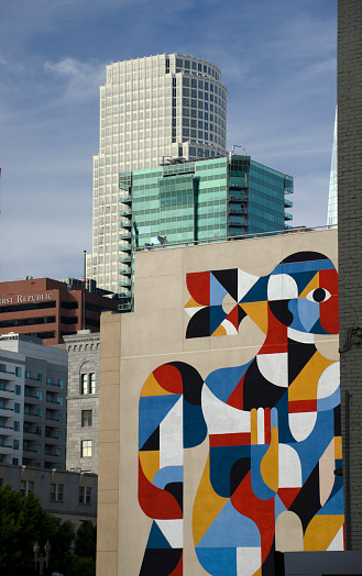 City Of Los Angeles「Downtown Los Angeles Art Mural」:スマホ壁紙(18)