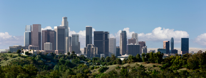 City Of Los Angeles「Downtown Los Angeles Panorama」:スマホ壁紙(2)