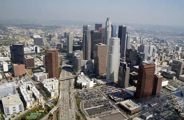 Financial District「Aerials of Los Angeles」:写真・画像(0)[壁紙.com]