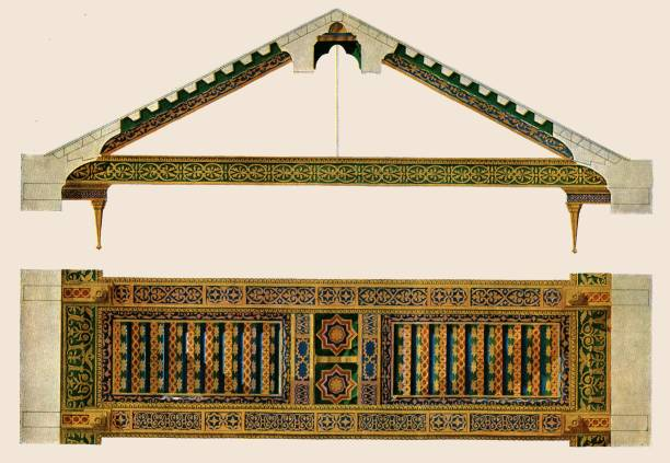 Wooden Ceiling In The Nave Of Monreale Cathedral:ニュース(壁紙.com)