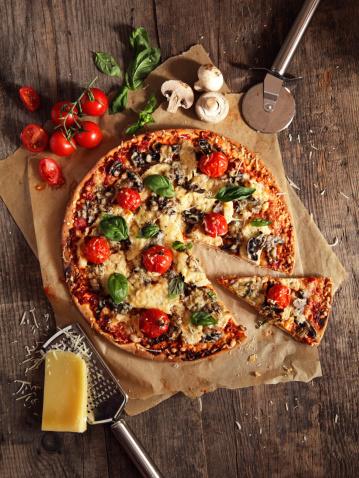 Plank - Timber「Pizza」:スマホ壁紙(6)