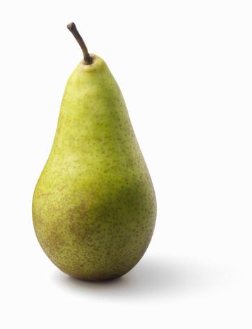 Pear「Pear on white background」:スマホ壁紙(18)