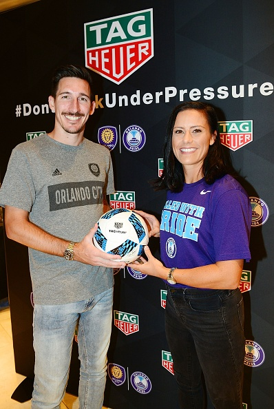 Gerardo Mora「TAG Heuer Announces New Partnership With Orlando City SC & Orlando Pride」:写真・画像(10)[壁紙.com]