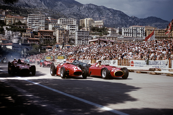 F1グランプリ「Eugenio Castellotti, Stirling Moss, Grand Prix Of Monaco」:写真・画像(3)[壁紙.com]