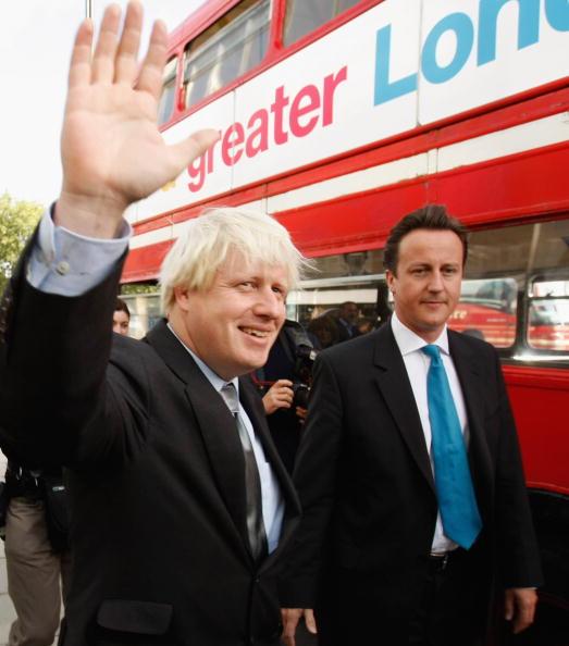 Bus「Boris Johnston Declared As Conservative Mayoral Candidate」:写真・画像(13)[壁紙.com]