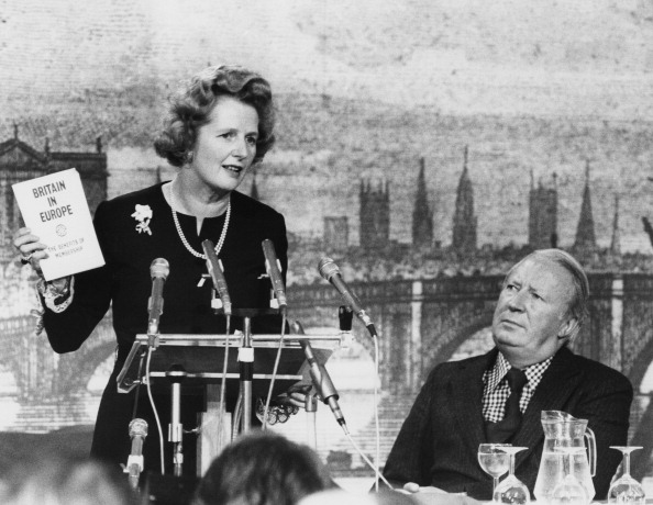 Europe「Thatcher Speaks On Europe」:写真・画像(1)[壁紙.com]