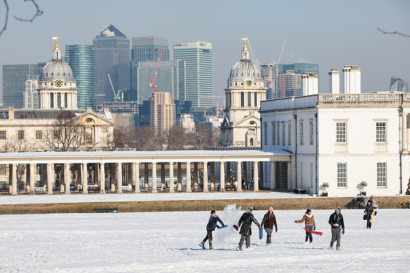Greenwich Park - London「Britain Freezes As Siberian Weather Sweeps Across The Country」:写真・画像(11)[壁紙.com]