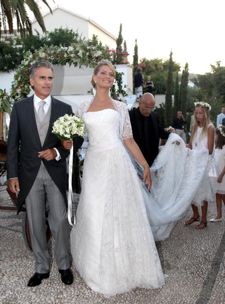 Spetses「Wedding of Prince Nikolaos and Miss Tatiana Blatnik - Wedding Service」:写真・画像(9)[壁紙.com]