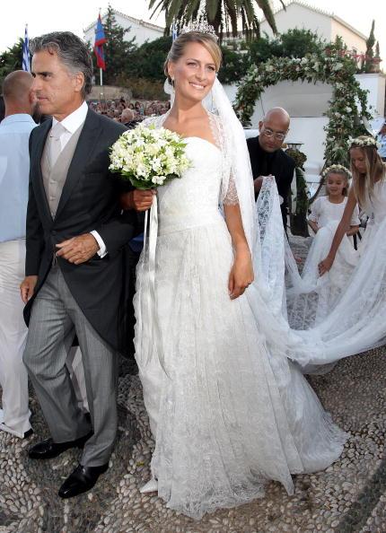 Spetses「Wedding of Prince Nikolaos and Miss Tatiana Blatnik - Wedding Service」:写真・画像(16)[壁紙.com]