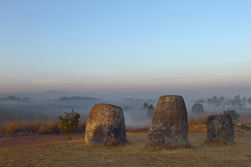 Indigenous Culture「Ancient and famous Plain of Jars in Laos」:スマホ壁紙(14)