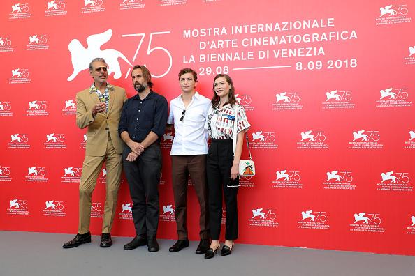 Hannah Gross「The Mountain Photocall - 75th Venice Film Festival」:写真・画像(4)[壁紙.com]
