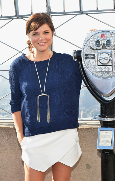 "Empire State Building「Tiffani Thiessen Lights The Empire State Building ""Jumpstart Red: To Celebrate Jumpstart's Read For The Record Campaign」:写真・画像(1)[壁紙.com]"