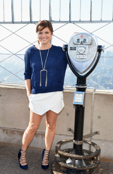 "Empire State Building「Tiffani Thiessen Lights The Empire State Building ""Jumpstart Red: To Celebrate Jumpstart's Read For The Record Campaign」:写真・画像(0)[壁紙.com]"