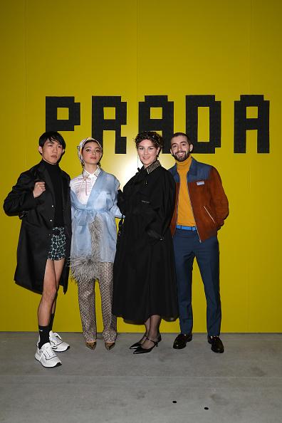 Prada「Prada -Arrivals and Front Row: Milan Fashion Week Fall/Winter 2019/20」:写真・画像(0)[壁紙.com]