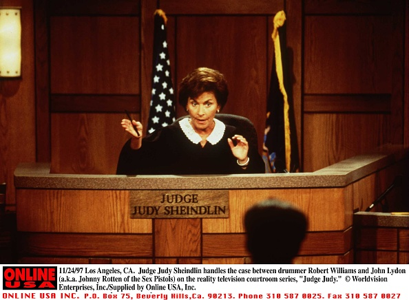 Reality TV「Judge Judy Sheindlin Handles The Case Between Drummer Robert Williams And John Lydon (A K」:写真・画像(6)[壁紙.com]